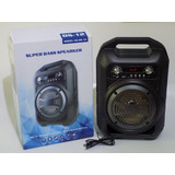 Parlante Amplificador Bs12 Potentesonido,,usb,bluetooh,fm,sd