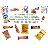 Combo Fiestas, Colegio, Snacks, Confiteria, Precio Especial.