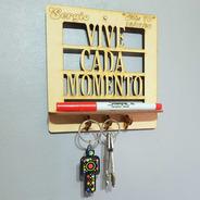15 Porta Llaves Cuadros Personalizados Souvenir 15cm Mdf