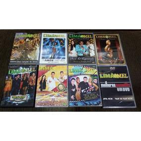 Lote Kit 08 Dvds Limão Com Mel Ao Vivo Original