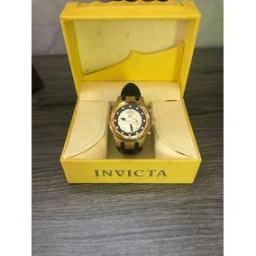 Relógio Invicta 1511 S1 Rally Original Banhado Ouro18k Caixa