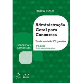 Livro Administração Geral Para Concursos