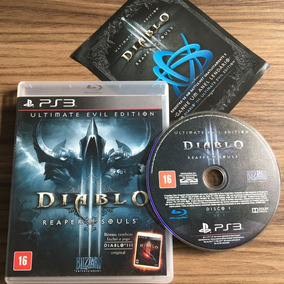 Jogo Diablo 3 Ultimate Evil Edition Ps3 Seminovo Físico
