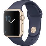 Iwatch Apple Mq122ll/a 42mm Azul Nedia Noche Serie1 Rel04