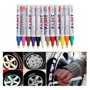 Pack X 3 Marcador Pintura Para Neumáticos Color Blancos