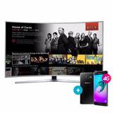 Smart Tv Curvo Uhd 4k Samsung 78 78ku6500 Celular De Regalo!