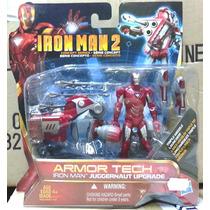 Toys Marvel Iron Man 2 Concept Armor Tech Juggernaut Upgrade