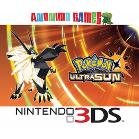 Pokémon Ultra Sun Código Original Nintendo 3ds
