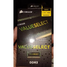 Memoria Ddr3 4gb Corsair Value Select 1600 Mhz, Para Laptop