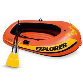 Bote Inflable Intex Explorer 300 Set 2 Personas 58331np
