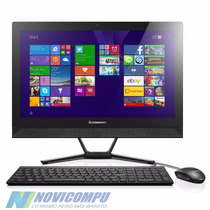 Lenovo All In One A4-6210+ 500gb+ 4gb+ Pant 21.5 +dvd+w8.1