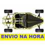 Projeto Kart Cross, Gaiola, Buggy, Kart + Frete Grátis Ebook