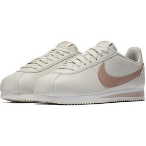 Tenis Mujer Nike Classic Cortez Leather Originales Casual