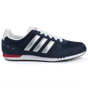 Tênis Masculino adidas City Racer - Azul/branco