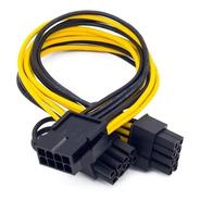 Cable Pcie Adaptador Splitter 8 A 2 X (6+2) 8 Pin Rig Riser