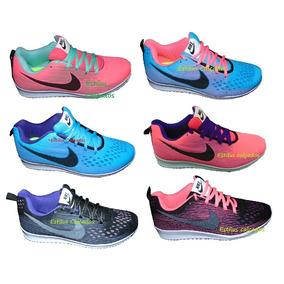 Kit 12 Tênis Nike Feminino Colorido Novidade Atacado Revenda