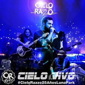 Cd+dvd Cielo Razzo Cielo Vivo Nuevo En Stock