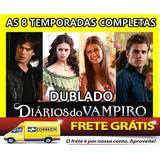 Dvd Diario De Um Vampiro Todas As 8 Temporadas+frete Gratis