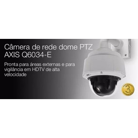 Camera Ip Speed Dome Ptz Axis Q6034-e
