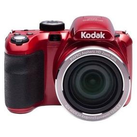 Cámara Digital Kodak Az421 16 Mp Semi Reflex Roja Oficial