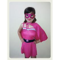 Fantasia Barbie Super Princesa Original + Brinde Oferta