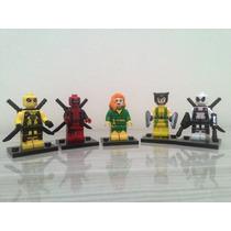 Lego Deadpool Wolverine Fênix Marvel X-men Super Heróis