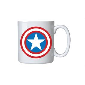Canecas Com Estampas Heróis- Capitão América -personalizadas