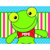 Etiquetas Para Golosinas Personalizadas - Candy Sapo Pepe