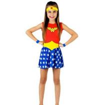 Disfraz De Mujer Maravilla Liga De La Justicia ( Original)