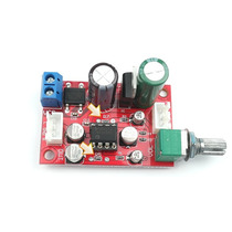 Placa Kit Montado Pré Amplificador Com Ajuste De Volume