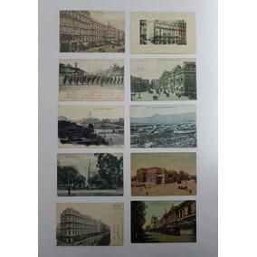 Coleção Cartões Postais Raros Antigos Da Argentina Lote 1