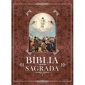 Bíblia Sagrada Luxo - Ilustrada Capa Dura - Frete Grátis