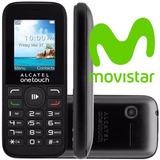 Celular Alcatel Ot1050 Movistar ! Un Mes Servicio Gratis !