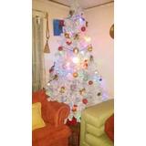 Árbol De Navidad Artificial, Color Blanco