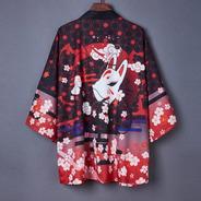 Kimono Kitsune Mask Unisex