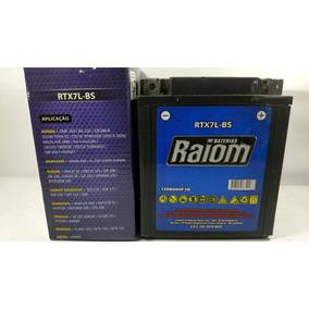 Bateria Raiom Rtx7l-bs - Honda Y5 Fazer 250