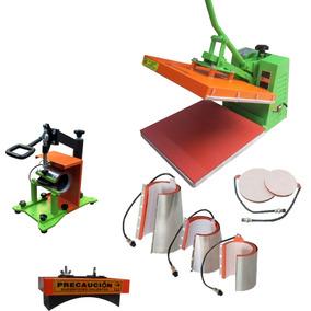 Plancha Sublimacion Industrial 8en1 + Impresora Cartamoritzu