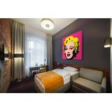 Cuadro Marylin Por Andy Warhol, Pop Art, 110 X 110 Cm.