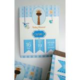 Tarjetas Invitaciones Baby Shower X 20u