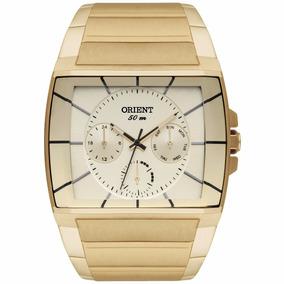 Relógio Orient Banhado A Ouro 18k Ggssm001 C1kx Original Nf