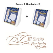 Combo 2 Almohadas Fiberball Tricomodin Triangulo C/envío!