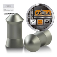 Balines Apolo Monster 5.5 X 200 Peso:1,65grs 26g Dogohunter