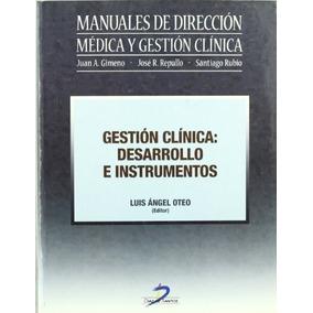 Libro Gestión Clínica: Desarrollo E Instrumentos - Nuevo