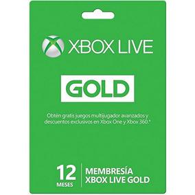 Xbox Live Gold - Membresía 12 Meses -envío Express-