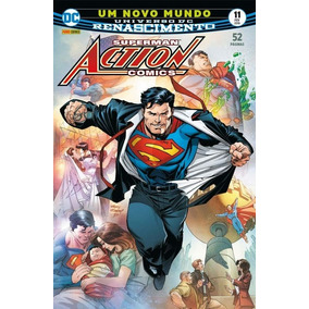 Superman Action Comics 11 - Renascimento - Panini