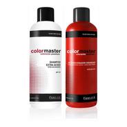 Kit Shampoo Acido Ph 3,5 Acondicionador Acido 4,5 Fidelite