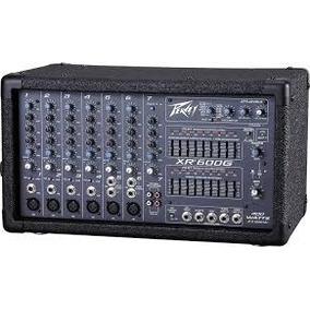 Mezcladora Amplificada Peavey Xr600g