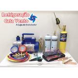 Kit P/ Refrigeração / Manutenção Geladeira E Freezer R134a