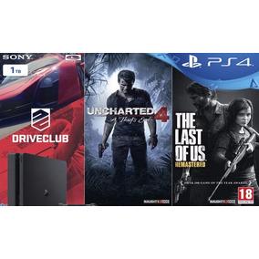 Playstation 4 1tb - 3 Juegos Fisicos