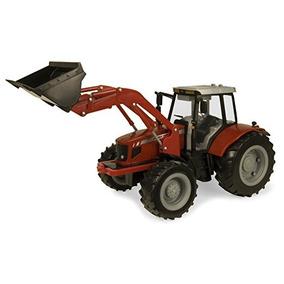 Ertl Granja Grande Massey Ferguson 7480 Tractor Con Cargador